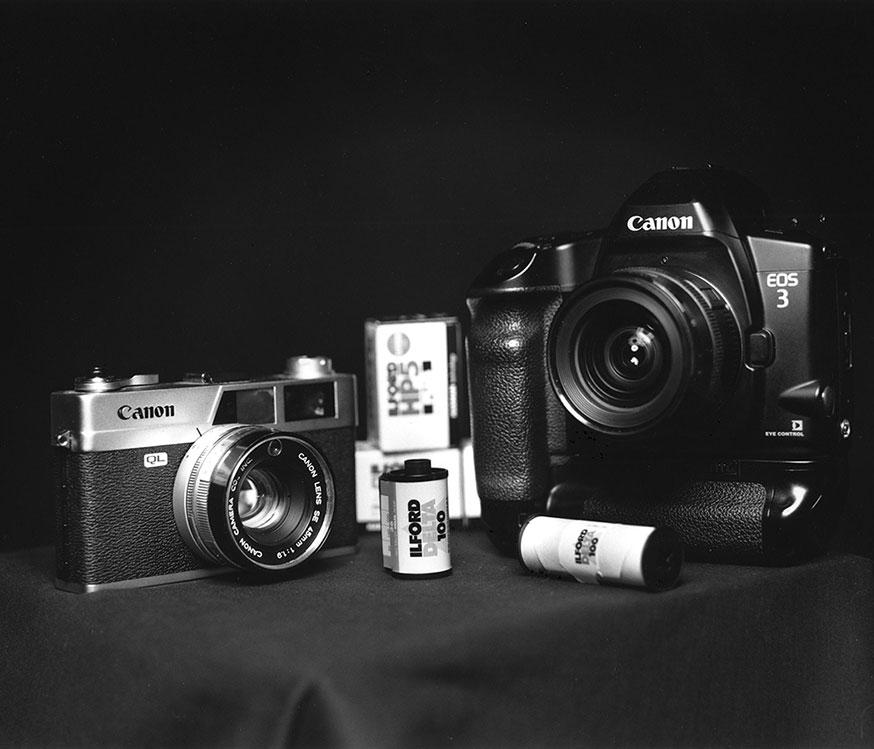 Plans Fixes Expérimentation du photographe argentique Frédéric Blanc